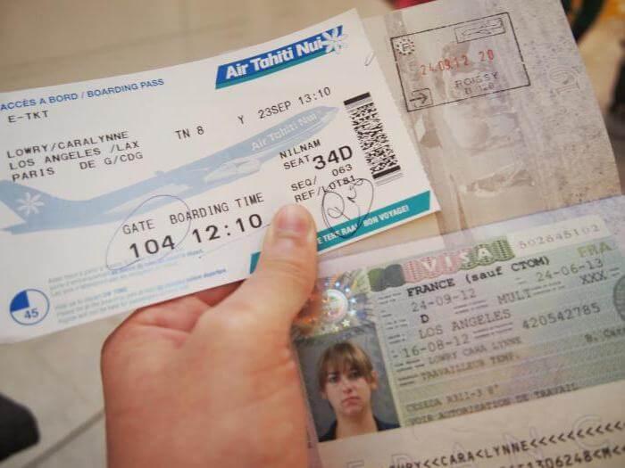 Что нужно для получения визы во Францию